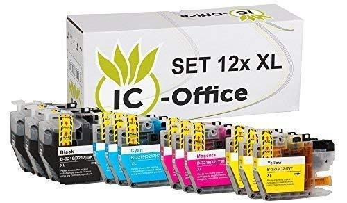 12x XL Patronen Set Druckerpatronen mit...