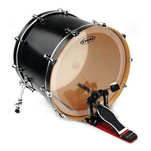 Evans EQ4 Clear Bass Drum Head, 22 Inch