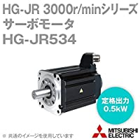 三菱電機 HG-JR534 サーボモータ HG-JR 3000r/minシリーズ 400Vクラス (低慣性・中容量) (定格出力容量 0.5kW) (慣性モーメント 1.52J) NN