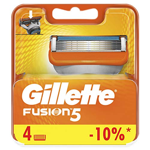 Gillette Fusion Manual Cuchillas – Pack de 4