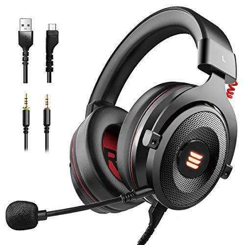 EKSA E900 USB Gaming Headset-Xbox One...