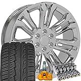 OE Wheels LLC 22 Inch Fit Chevy Silverado...