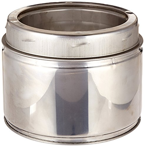 Selkirk Metalbestos 6UT-6 6-Inch X 6-Inch Stainless Steel Insulated Chimney Pipe by Selkirk Metalbestos