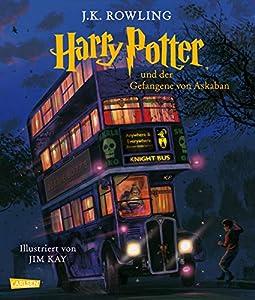 Neuauflage von Harry Potter und der Gefangene von Askaban Band 3 der Reihe in edler Schmuckausgabe Autorin J. K. Rowling, illustriert von Jim Kay gebundene Ausgabe mit Schutzumschlag mit Lesebändchen, 336 Seiten