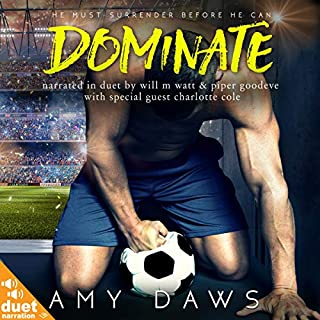 Dominate audiobook cover art