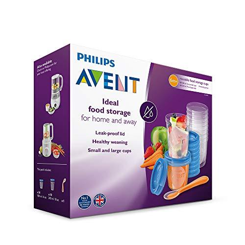 Philips Avent SCF721/20 Aufbewahrungssystem für Babynahrung, 20er Pack (10×180 ml, 10x 240 ml) - 6