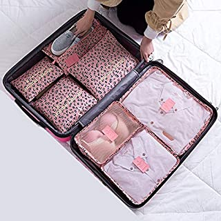 TATUE-Travel Bags - New 7PCS/Set High Quality Oxford Cloth Ms Travel Mesh Bag In Bag Luggage Organizer Packing Cube Organi...