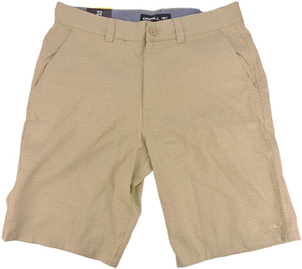O'NEILL Men Stretch Walk Short in Khaki, Size 32