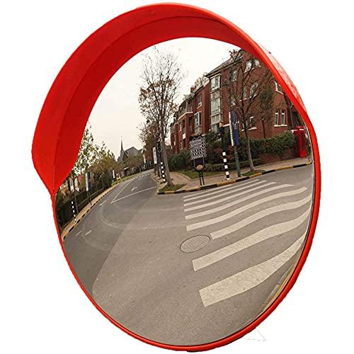 Espejo de gran angular del tráfico al aire libre, espejo de carretera a prueba de viento y impermeable, fuerte usabilidad, 45 cm