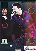 2015 Panini Adrenalyn Champions League EXCLUSIVE Lionel Messi Update Limited Edition MINT ! Rare Awesome Special Great Looking Card Imported from Europe ! Wowzzer!