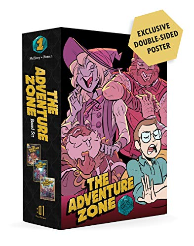 The Adventure Zone Boxed Set: Here There Be Gerblins, Murder...