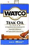 RUST-OLEUM  242225 Watco Teak Oil VOC Gallon