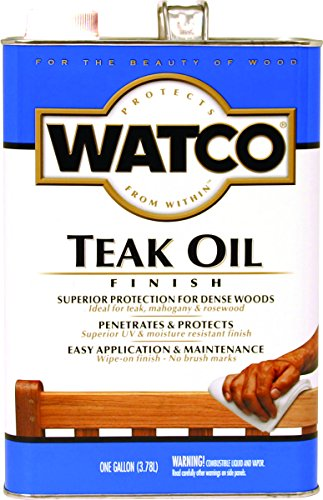 RUST-OLEUM 242225 Watco Teak Oil VOC Gallon