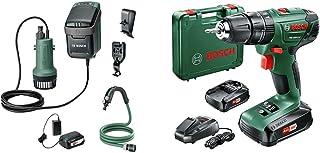 Bosch Home and Garden 06008C4270 Bosch Cordless Water Pump GardenPump 18 (1x Battery, 18 Volt System, max Garden Hose Leng...