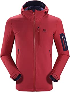 KAILAS Men's Softshell Jacket Waterproof Windproof Outdoor Cycling Trekking Walking Coat