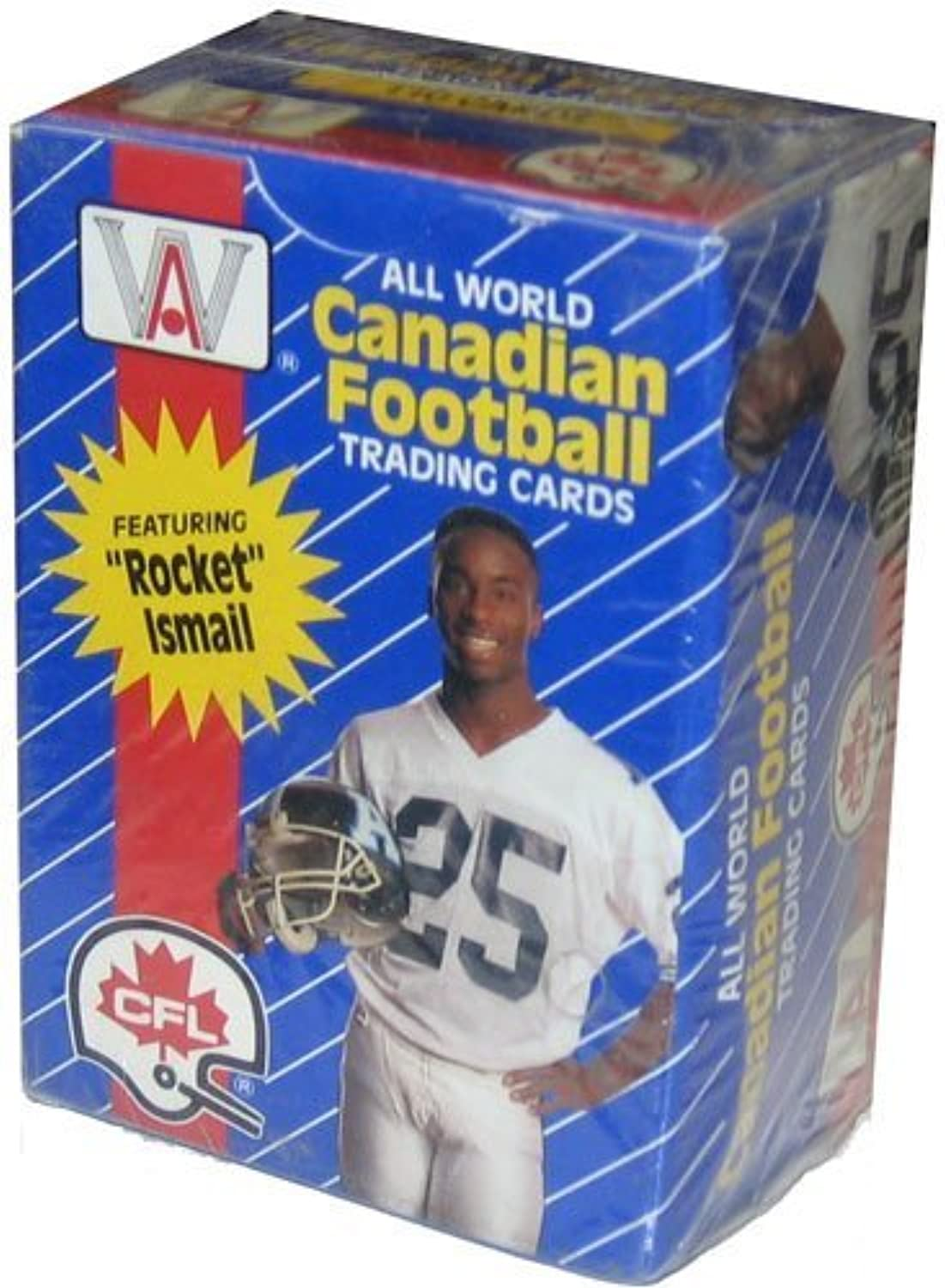 All World Canadian Football Cards, 1991 CFL 110 Card Set in Box by AW