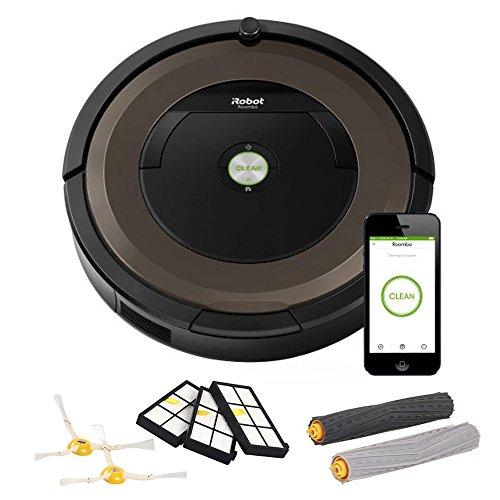 iRobot Roomba 890 Robot Vacuum with Wi-Fi Connectivity (R890 w/ replenishment kit)