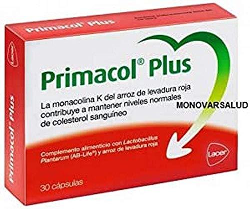 Primacol Plus 30CAPS, Negro, Estándar