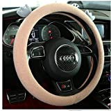 38mm Universal Car Styling Car Steering Wheel Cover Cute Cartoon Interior Accessories Set Mujeres/Hombre Girls Car Covers 38CM C
