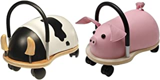 Prince Lionheart Two Ride-On Set, WheelyBUG PIG and COW - Large