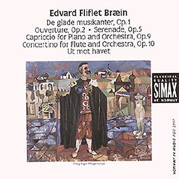 Edvard Fliflet Bræin: Orchestral Works Etc.