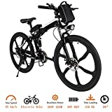 Tomasar Power Electric Bike with Lithium-Ion Battery, 26 inch Wheel Cyclocross Bike (US Stock)...