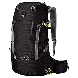 Jack Wolfskin Backpack ACS Hike 22 Pack, Black, 22 Liter, 2004211-6000