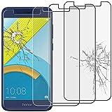 ebestStar - kompatibel mit Huawei Honor 6C Pro Panzerglas x3 Schutzfolie Glas, Schutzglas Bildschirmschutz, Bildschirmschutzfolie 9H gehärtes Glas [Phone: 147.9 x 73.2 x 7.7mm, 5.2'']