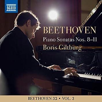 Beethoven 32, Vol. 3: Piano Sonatas Nos. 8-11