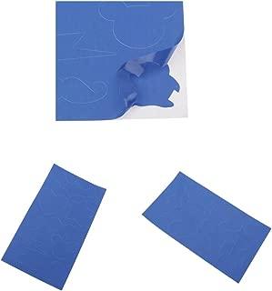 mbition Patch di Riparazione Autoadesivo Adesivo Patch di Nylon Flessibile Impermeabile Patch per Tende Zaini Tende da Sole Piumini Grigio