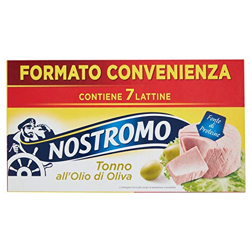 Nostromo Tonno All'Olio Di Oliva Multipackpiano 7 Lattine - 490 Gr