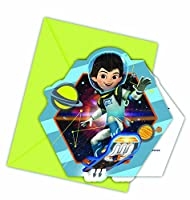 Miles From Tomorrow Party Invitations Pack of 6