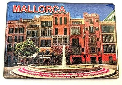 Imán para nevera Mallorca, Islas Baleares, España, Souvenir Imán para nevera Spain Fridge 0704212