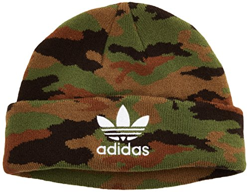 adidas Bonnet Camouflage, Mixte, Camouflage, Multicolor/White, OSFM