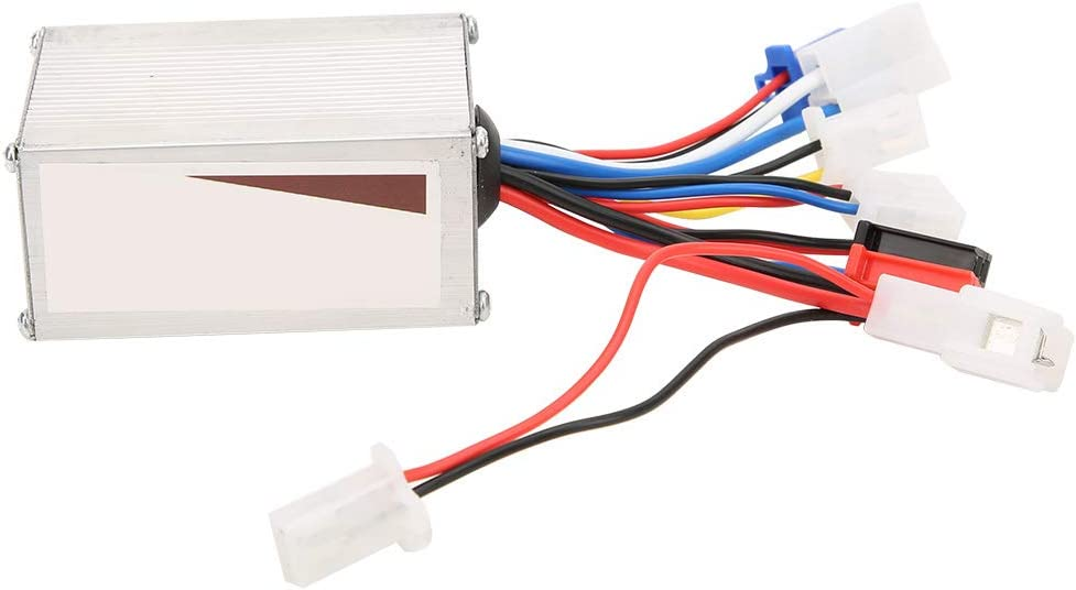 Pwshymi Controlador sin escobillas del Motor 24V 250W Caja del Controlador de velocidades cepilladas del Motor para Bicicleta eléctrica