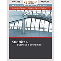 MindTap Business Statistics with XLSTAT 2 term (12 months) Printed Access Card for Anderson/Sweeney/Williams/Camm/Cochran's Statistics for Business & Economics Revised 13th (MindTap Course List)【洋書】 [並行輸入品]