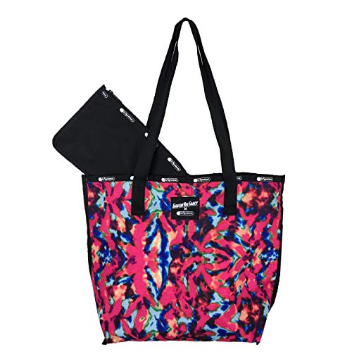 LeSportsac Reversible Tote with Interior Pouch Tie-Dye One Size