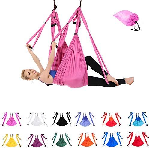 Indoor Reverse Aerial Yoga Hangmat Yoga Swing Fitness Hangmat Outdoor Parachute Doek YOGA HAMMOCK,12
