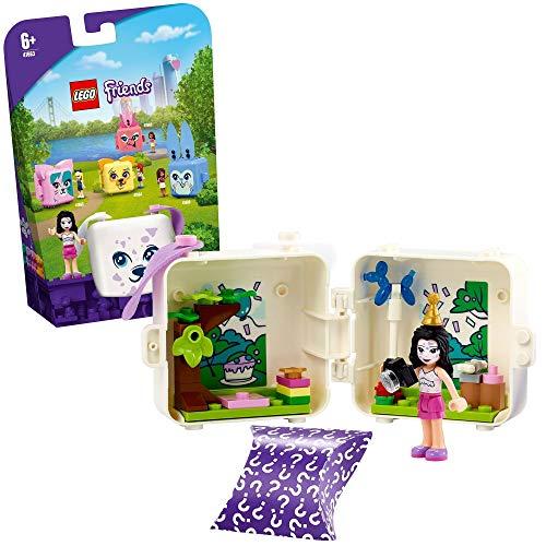 LEGO 41663 Friends Magische Würfel Emmas Dalmatiner-Würfel Mini-Set Serie 4, Spielzeug für unterwegs, Sammlerstück