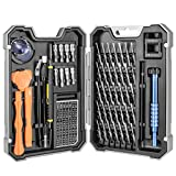 Juego de Destornilladores de Precisión con Magnetizador 54 in 1 WaxRhyed, Kit de Herramientas de Reparación de Bricolaje Profesional para iPhones, Laptops, Teléfono, Xboxs, Gafas, Reloj, Cámara ect