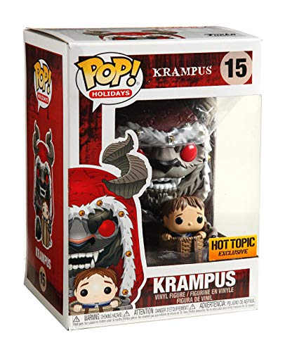 Funko Pop! Holidays Krampus with Child Vinyl Figure 15 Hot Topic Exclusive