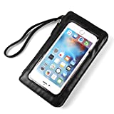 PU Leahter Touch Screen Bag Hand Strap Case Pouch for LG