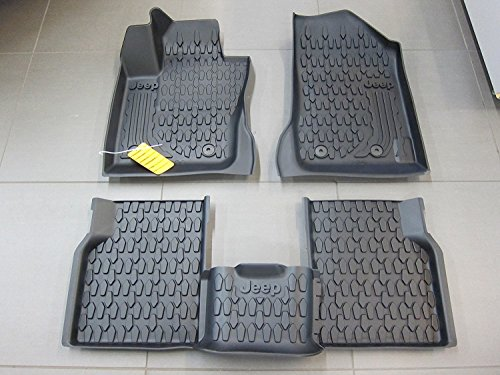 Mopar Jeep Compass Slush Style All Weather Floor Mats My Body Style OEM