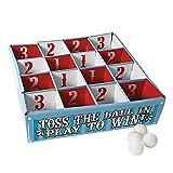Fun Express Carnival Table Tennis Toss Game - Ping Pong Bingo - 5 Pieces