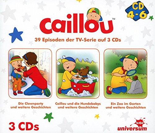 Caillou Hörspielbox 2 (CD 4-6)