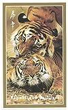 Timbres pour collectionneurs–Imperforfate Stamp Sheet avec Tigers/deux Tigres/Année du tigre 1998/République du Niger