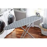 Mainstays Deluxe Iron Board Cover and Pad, Fits ironing boards 15' x 54' Thick fiber pad 100 percent cotton cover