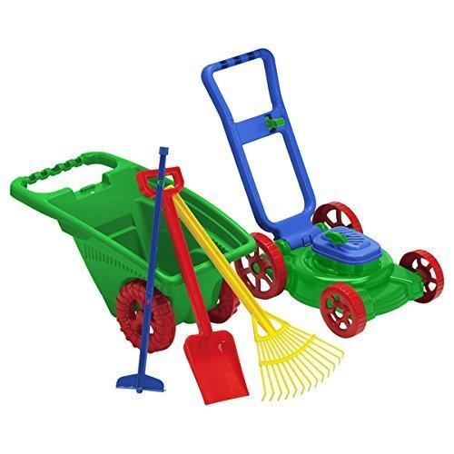 American Plastic Toys 5-piece Garden Set, Materials: Plastic