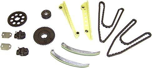 DNJ TK4155A Timing Chain Kit for 2001-2002 / Ford, Lincoln, Mercury/Crown Victoria, E-150, Expedition, Explorer, F-150, Grand Marquis, Mountaineer, Mustang, Town Car / 4.6L / SOHC / V8 / 16V