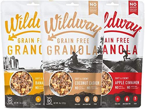 Wildway Vegan, Paleo, Gluten-free Granola – Variety 8oz